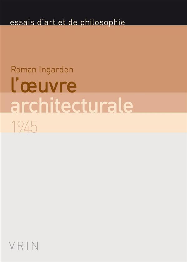 L'oeuvre architecturale (1945)