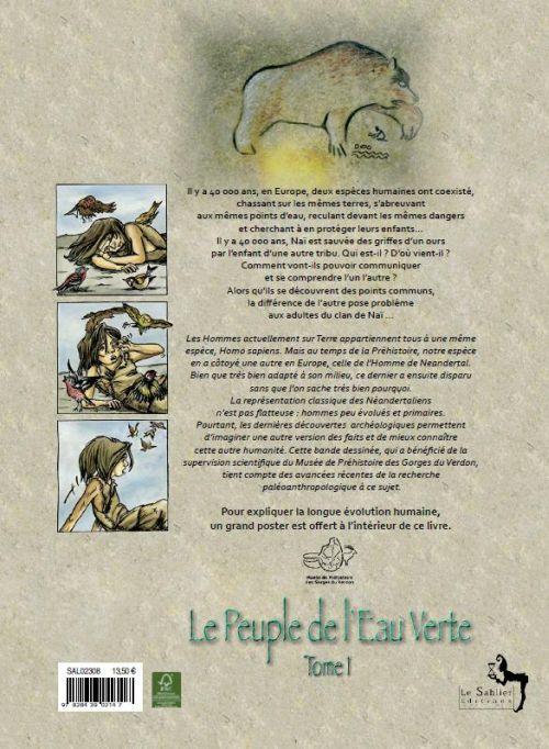 Le peuple de l'eau verte t.1 ; l'esprit de l'ours