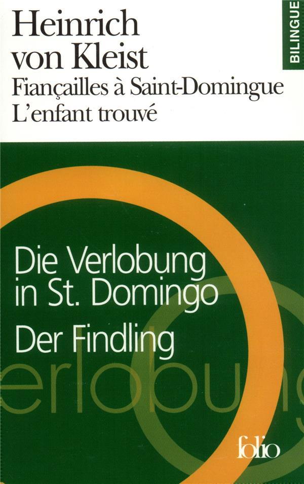 fiancailles a saint-domingue/die verlobung in st. domingo - l'enfant trouve/der findling