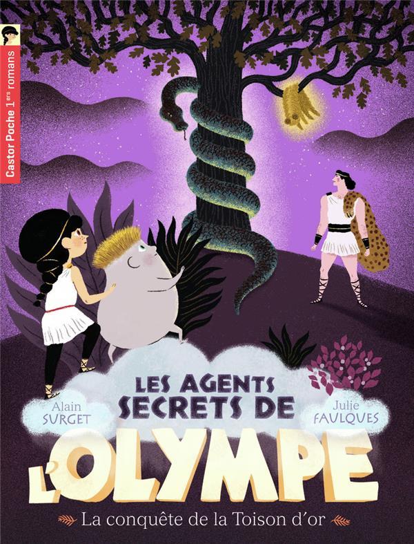 Les agents secrets de l'Olympe t.7 ; la conquête de la toison d'or