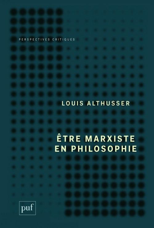 être marxiste en philosophie