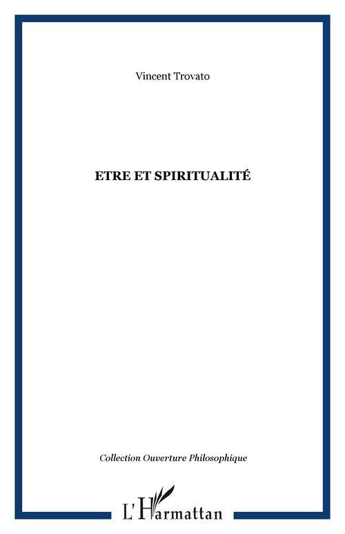 être et spiritualité