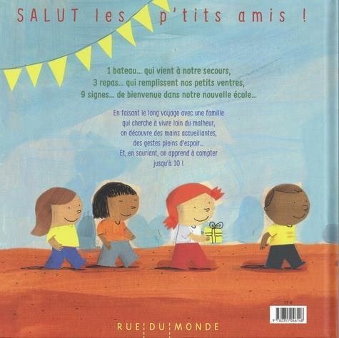 Salut les p'tits amis !  un livre pour apprendre à compter et à être solidaire