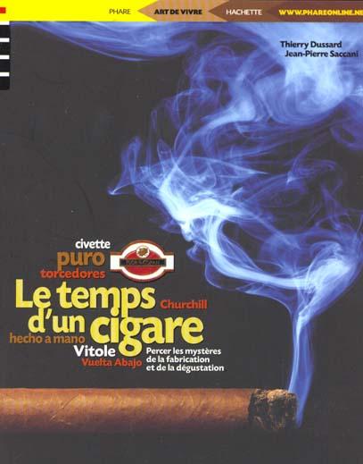 le temps d'un cigare