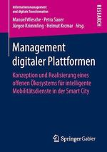 Management digitaler Plattformen  - Petra Sauer - Jurgen Krimmling - Helmut Krcmar - Manuel Wiesche