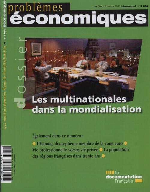 Problemes Economiques T.3014; Les Multinationales Dans La Mondialisation