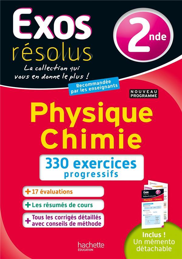 Exos Resolus Physique Chimie 2nde Frederique De La Baume Hachette Education Grand Format Le Hall Du Livre Nancy