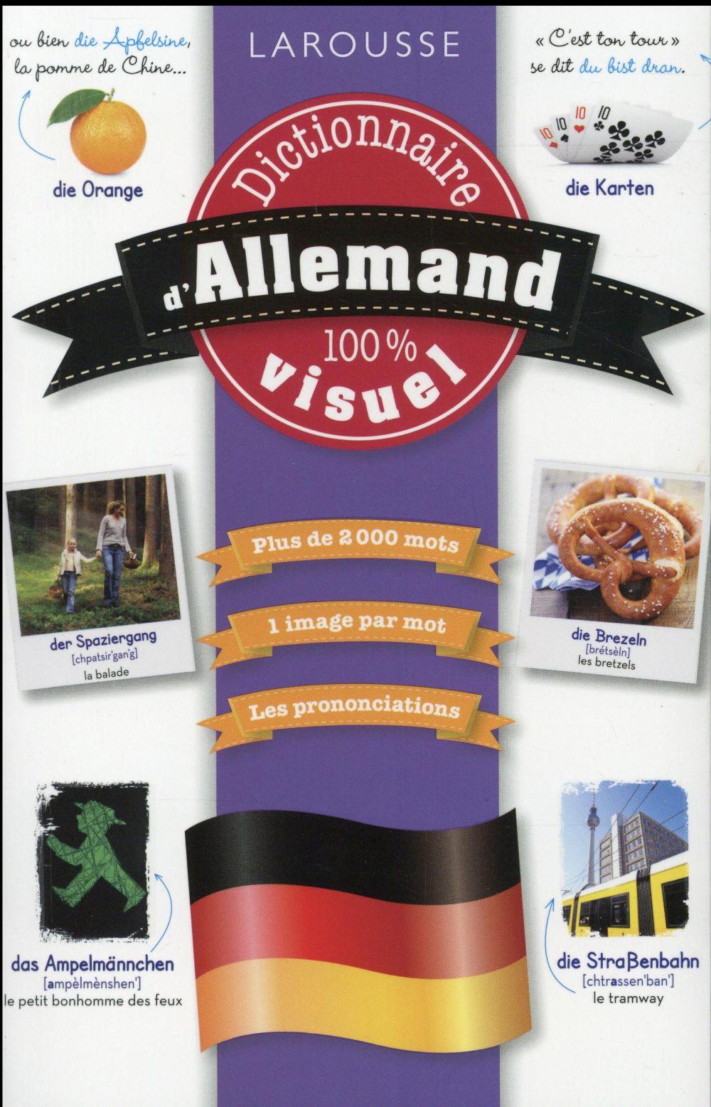 Dictionnaire visuel francais-allemand