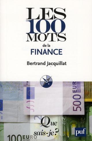 Les 100 mots de la finance (5e édition)