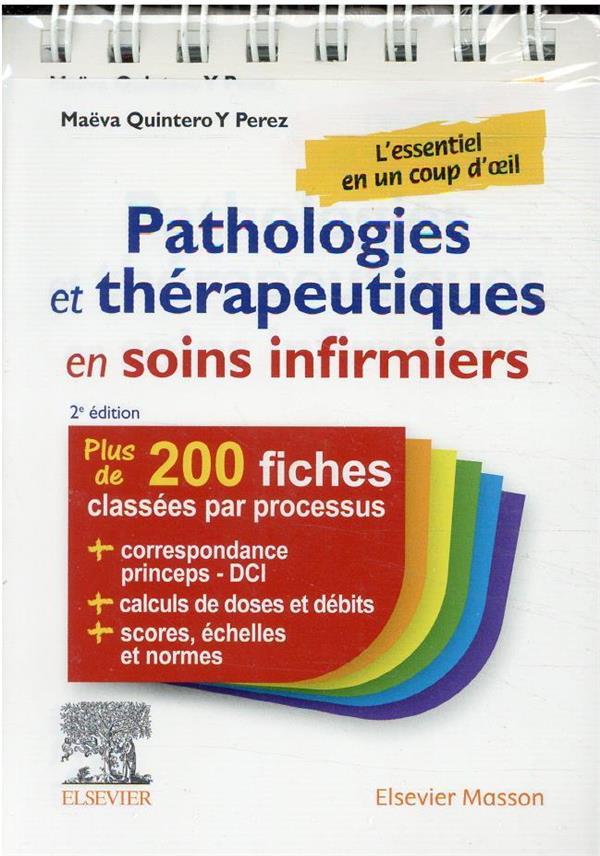 Pathologies et thérapeutiques en soins infirmiers (2e édition)
