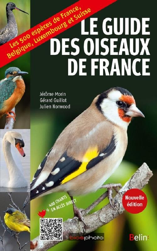 Guide des oiseaux de France (édition 2017)