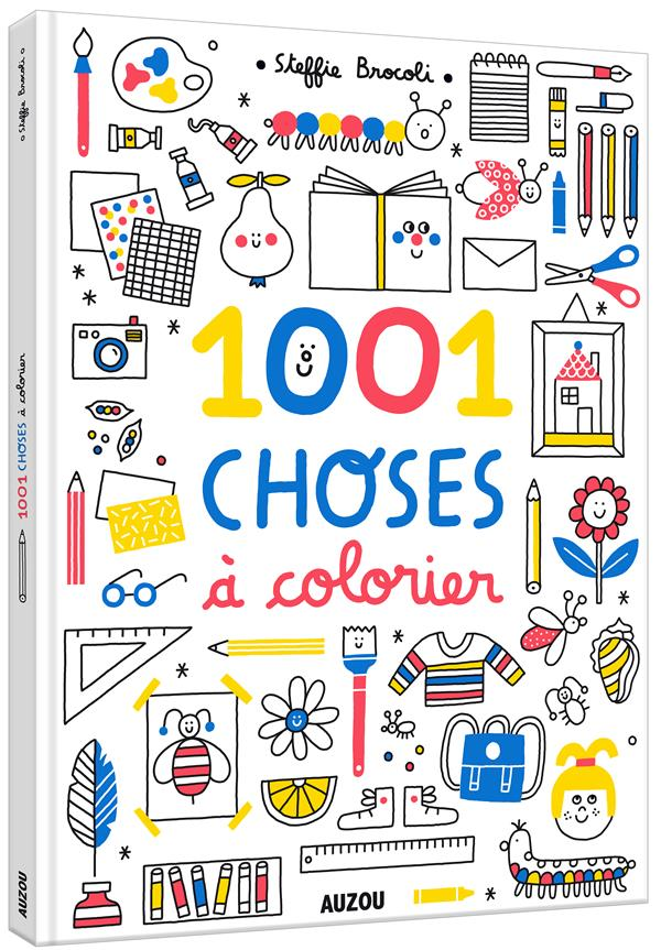 1001 CHOSES A COLORIER
