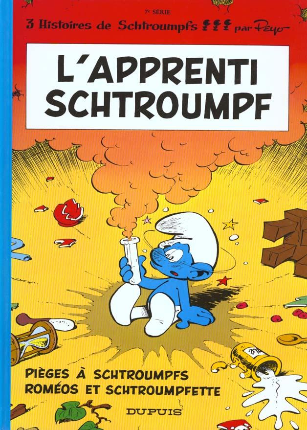 Les Schtroumpfs T.7 ; L'Apprenti Schtroumpf
