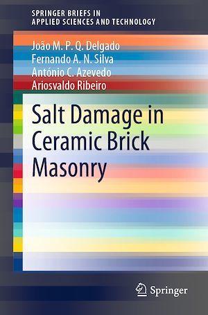 Salt Damage in Ceramic Brick Masonry