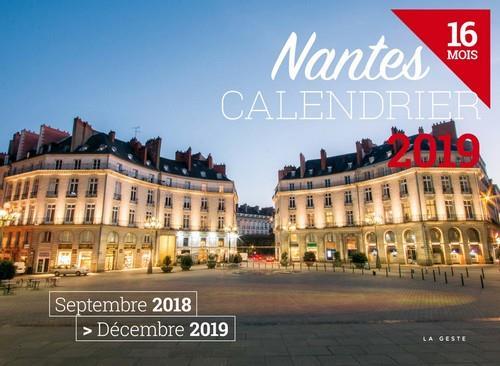 Calendrier ; Nantes (édition 2019)