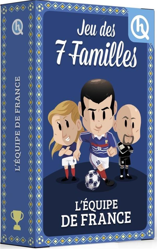 Jeu des 7 familles ; l'équipe de France