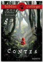 Vente Livre Numérique : Bibliocollège - Contes, Charles Perrault  - Charles Perrault - Emmanuelle Lezin