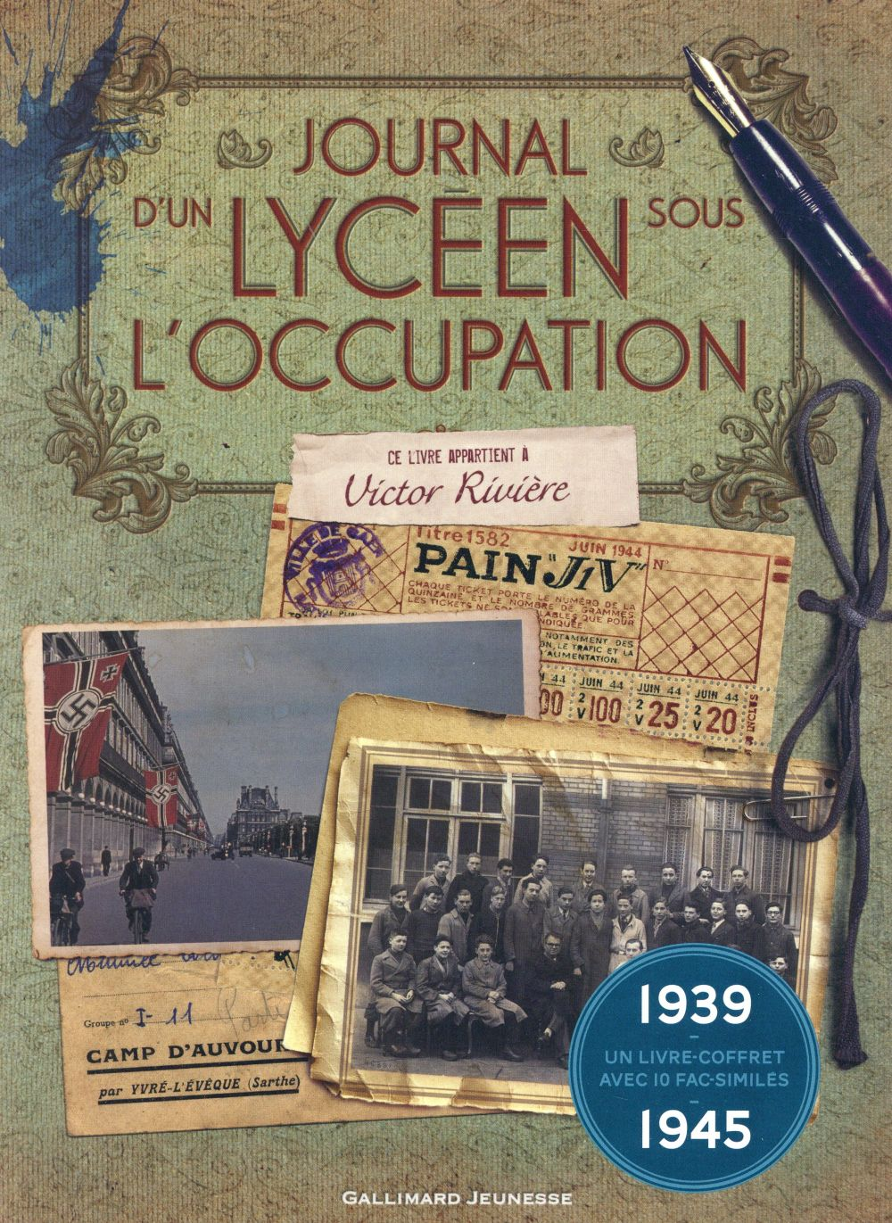 Le journal d'un lycéen sous l'occupation
