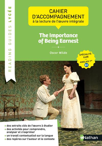 The importance of being Earnest ; 1re ; cahier élève (édition 2020)