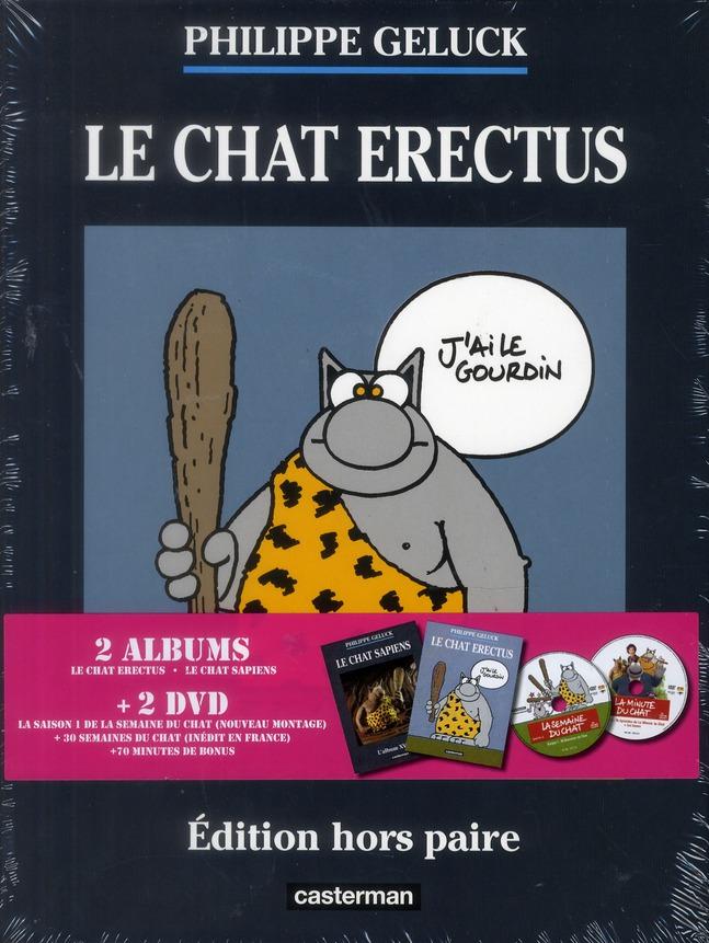 Le Chat ; COFFRET ; le Chat erectus, le Chat sapiens