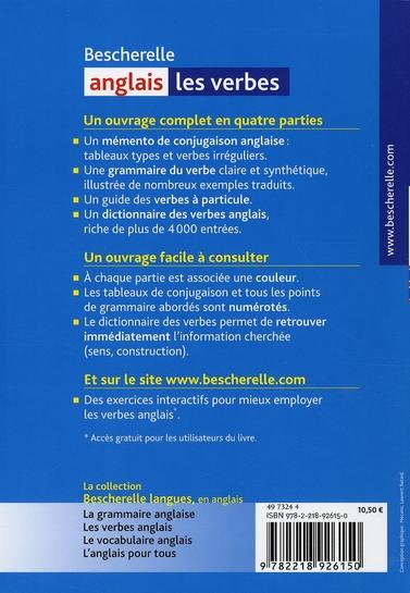 Bescherelle Anglais Les Verbes Quenelle Hourquin Hatier Grand Format Al Kitab Tunis Le Colisee