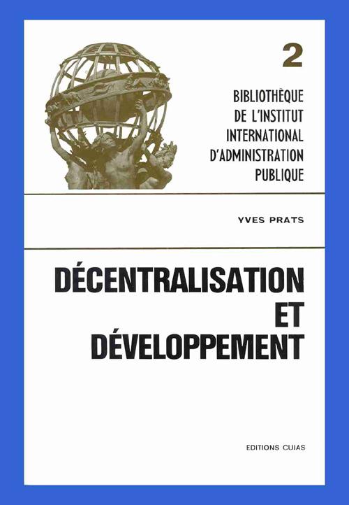 Decentralisation Et Developpement