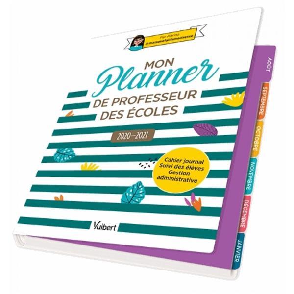Mon planner de professeur des écoles (édition 2020/2021)