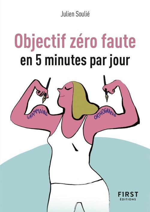 petit livre objectif zero faute en 5 minutes par jour