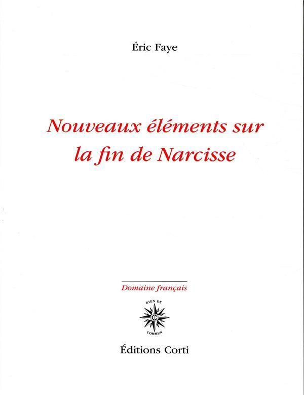 Nouveaux éléments sur la fin de Narcisse