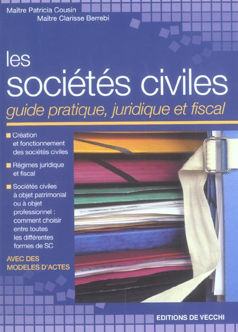 Les societes civiles