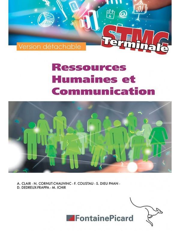 ressources humaines et communication ; terminale STMG ; livre de l'élève