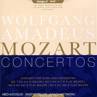 Intégrale Des Concertos /vol.15