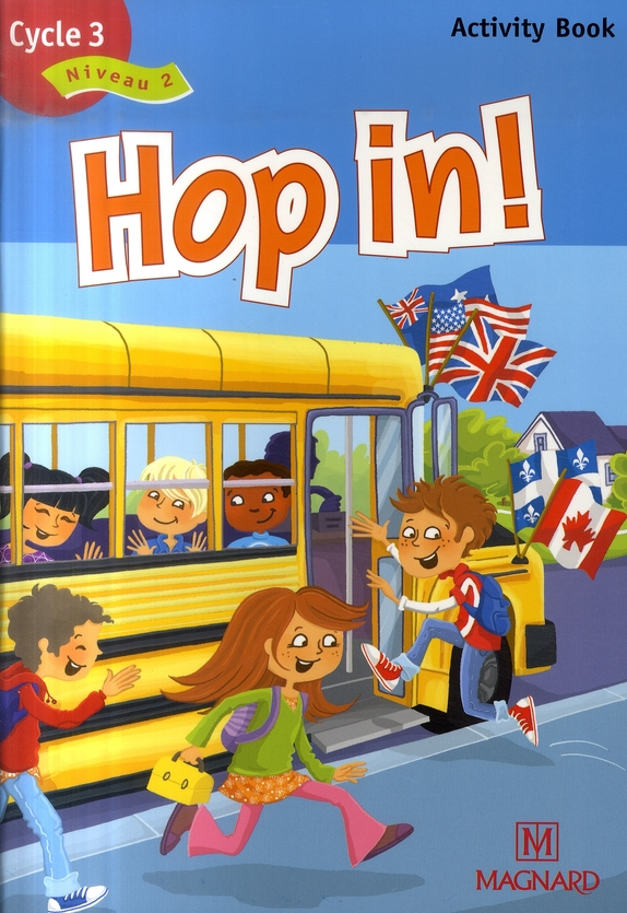 Hop In Cycle 3 Niveau 2 Cm1 Activity Book