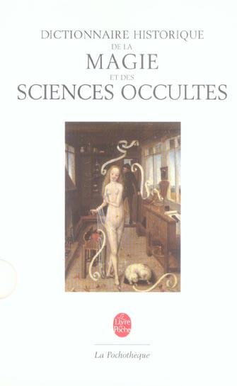 Dictionnaire historique de la magie et des sciences occultes