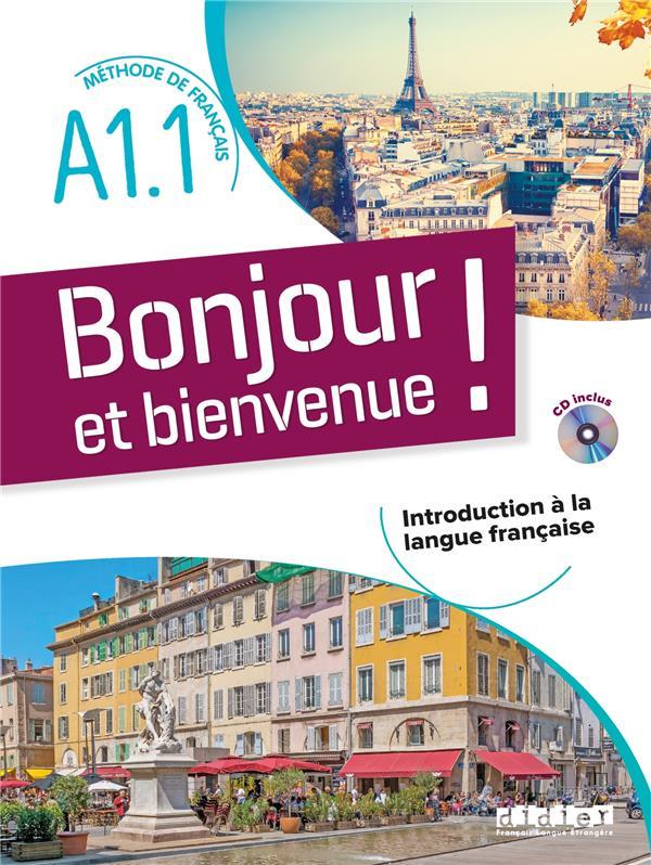 Bonjour et bienvenue ! en français A1.1