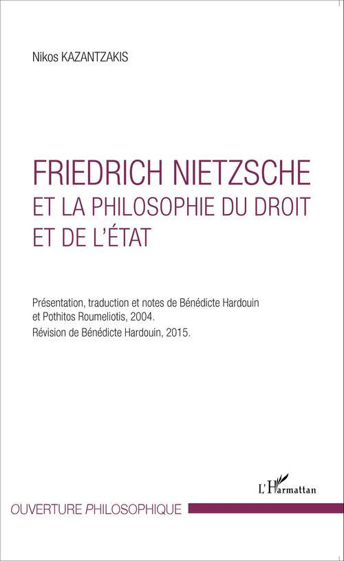 Friedrich Nietzsche et la philosophie du droit et de l'État