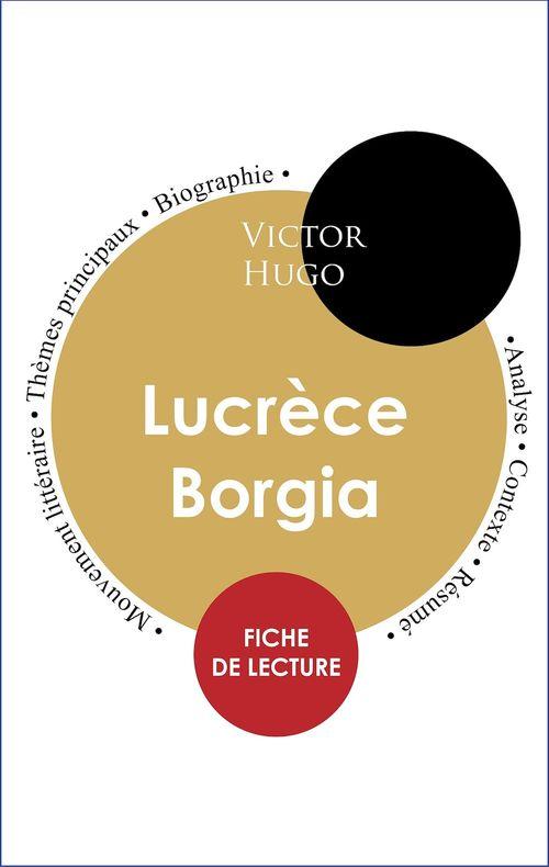 Étude intégrale : Lucrèce Borgia (fiche de lecture, analyse et résumé)