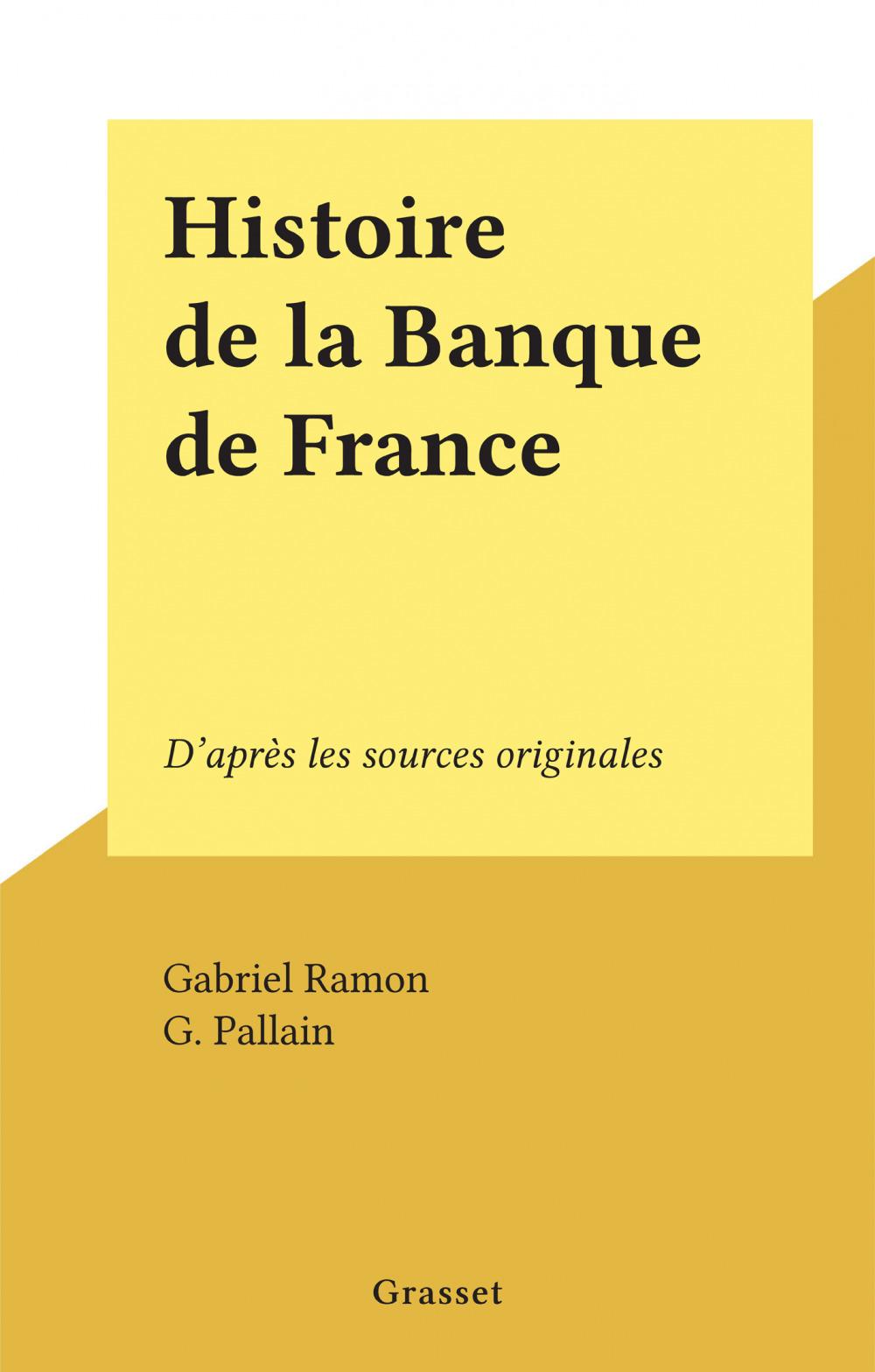 Histoire de la Banque de France