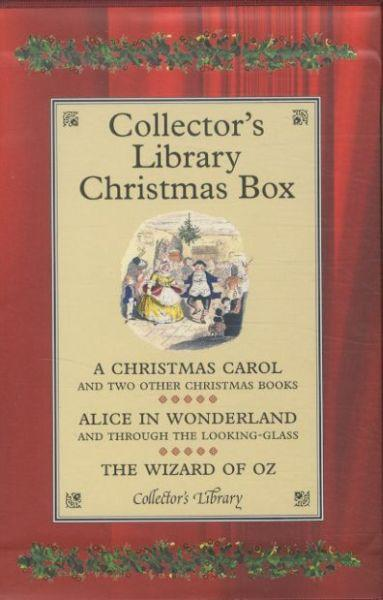 Collector's library Christmas box ; a Christmas carol ; two other Christmas books ; Alice in Wonderland ; through the looking-glass ; the wizard of Oz