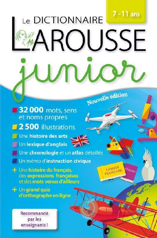 Larousse dictionnaire junior 7/11 ans export