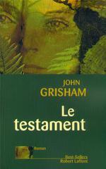 Couverture de Le testament