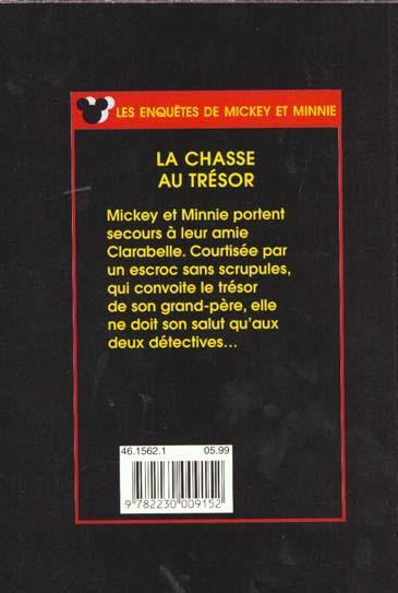 les enquêtes de Mickey et Minnie ; la chasse au trésor