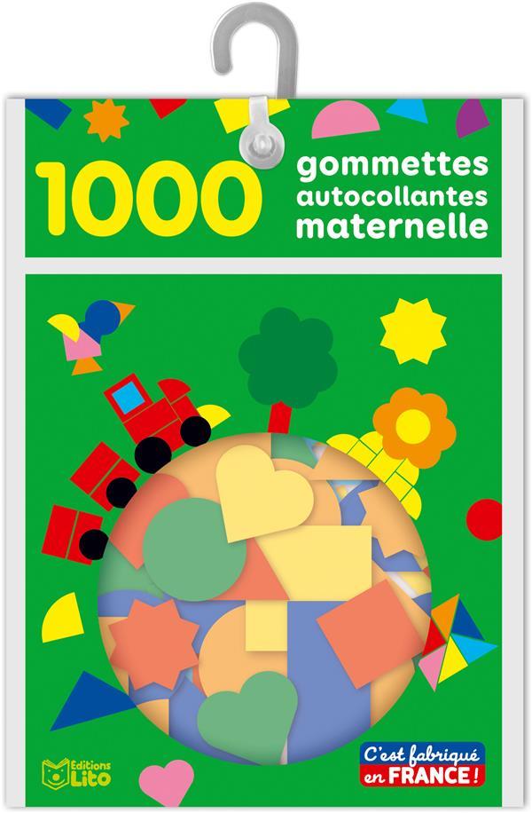 1000 gommettes autocollantes maternelle