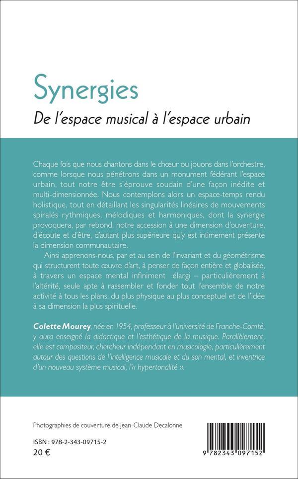 Synergies ; de l'espace musical à l'espace urbain
