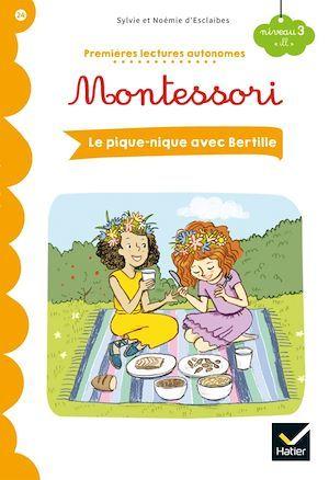 Premières lectures autonomes Montessori ; le pique-nique avec Bertille