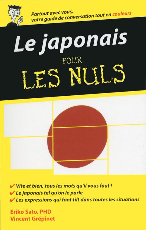 Le japonais - guide de conversation pour les nuls 2e