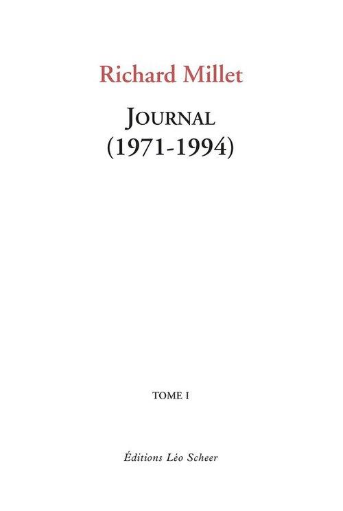 Journal 1971-1994 t.1