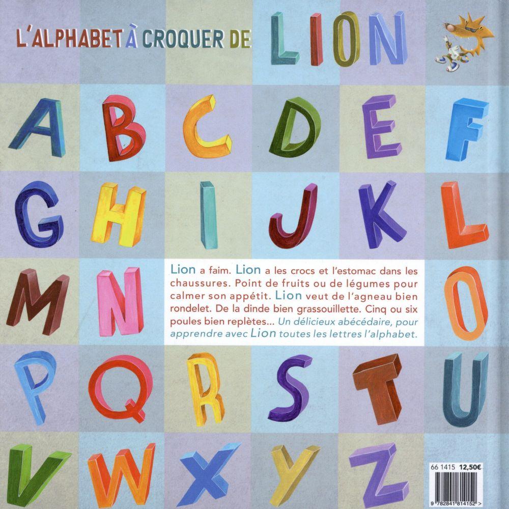 L'alphabet à croquer de Lion