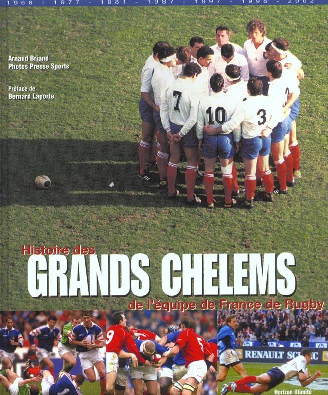 Histoire des grands chelems de l'equipe de france de rugby