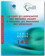 Le coût et l'efficacité des mesures visant à réduire les émissions des véhicules